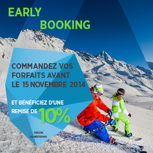 Early Booking Forfait
