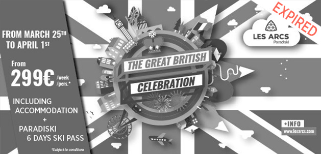 Hiver 16-17 - The Great British Celebration